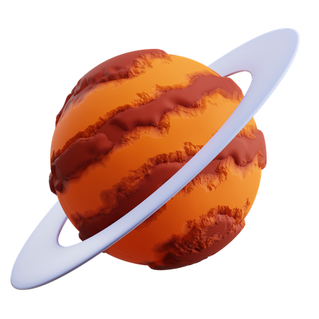 Saturn 3D Illustration