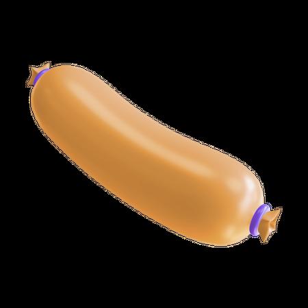 Sausage 3D Illustration