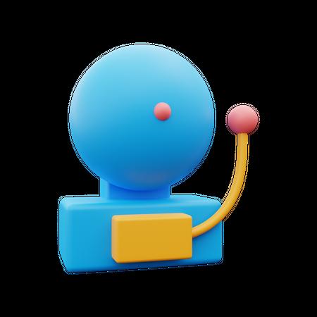 School Bell 3D Illustration