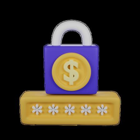 Secure Payment 3D Illustration