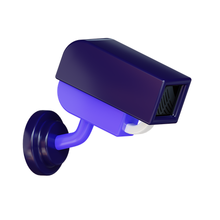 Security Camera 3D Illustration