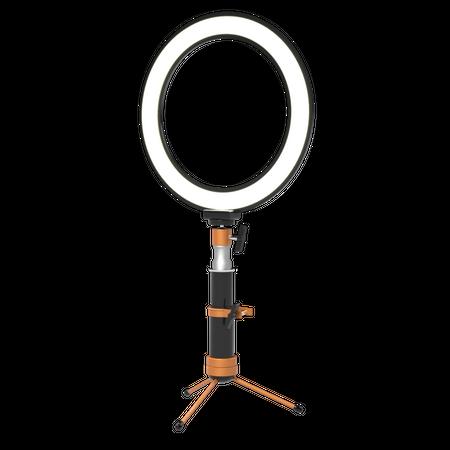 Selfie Light Ring 3D Illustration