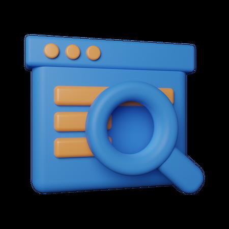 Seo 3D Illustration