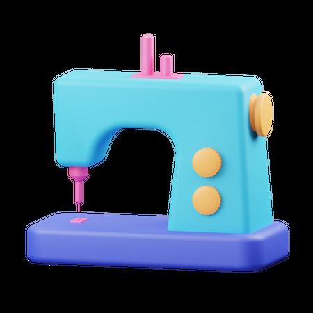 Sewing Machine 3D Illustration