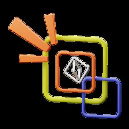 Shapes 3D Illustration