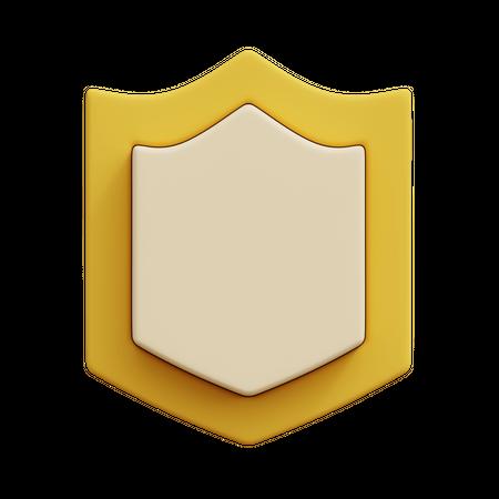 Shield 3D Illustration