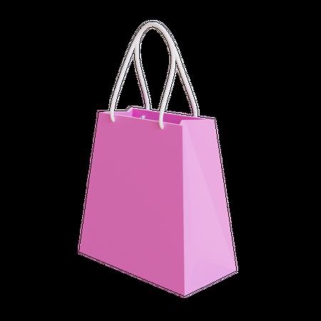 Shopping Bag 3D Illustration