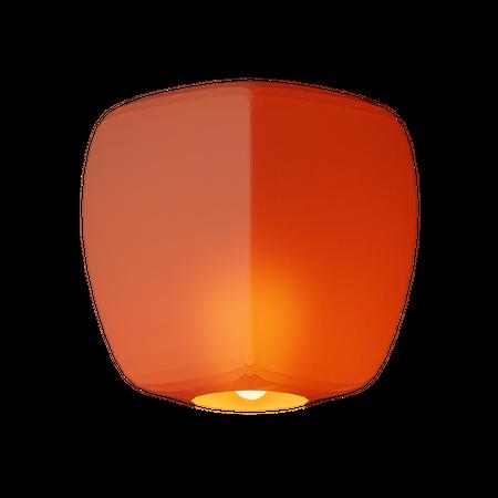 Sky Lantern 3D Illustration
