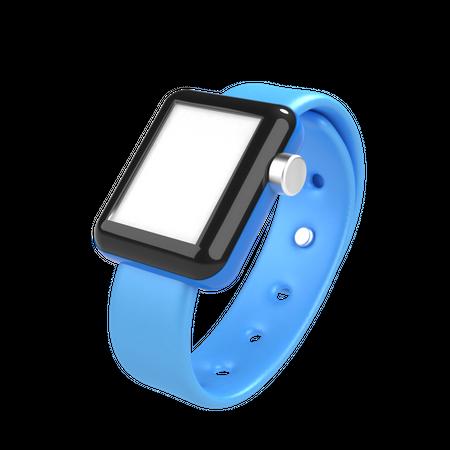 Smart watch 3D Illustration