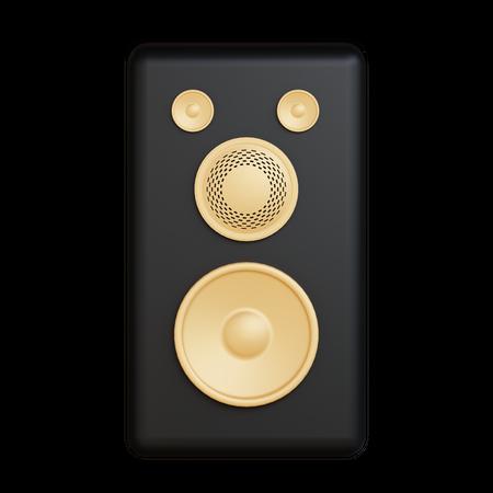 Speaker 3D Illustration