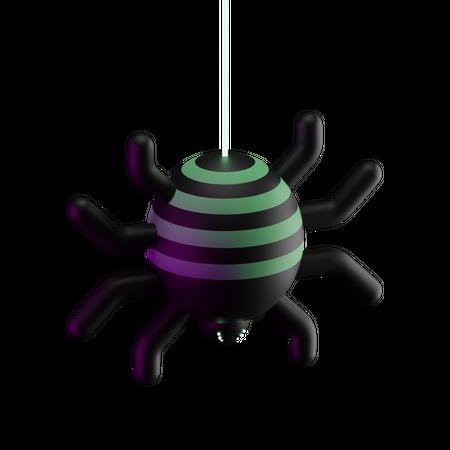 Spider 3D Illustration