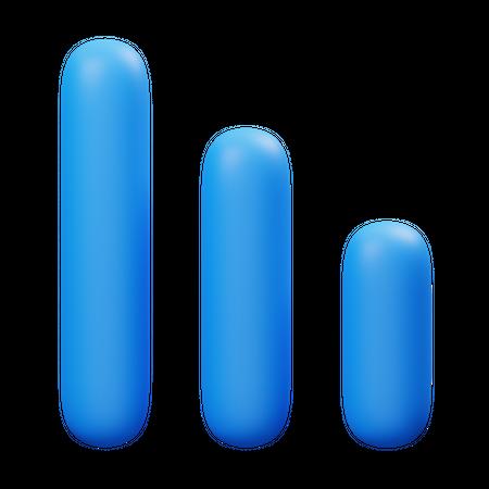 Statistic 3D Illustration