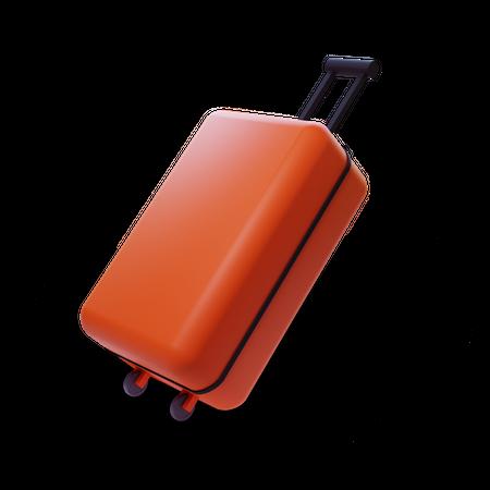 Suitcase 3D Illustration