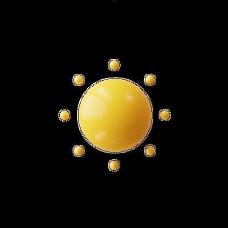 Sun 3D Illustration