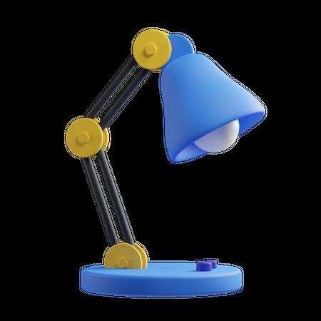 Table Lamp 3D Illustration