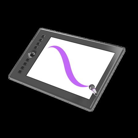 Tablet 3D Illustration