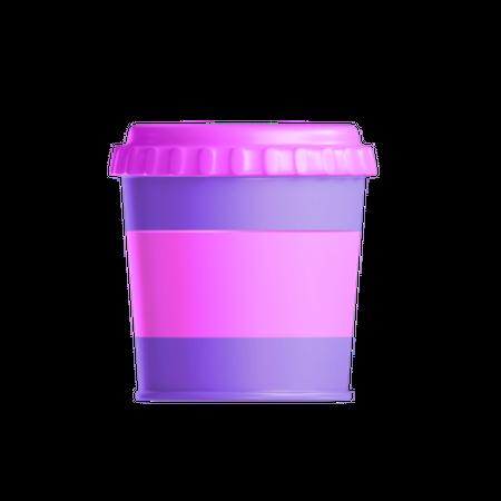 Takeaway cup 3D Illustration