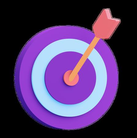 Target 3D Illustration