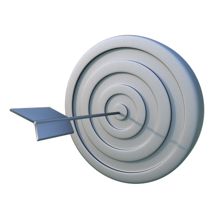 Target Board 3D Illustration