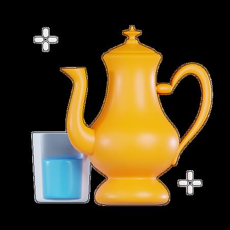 Teapot 3D Illustration