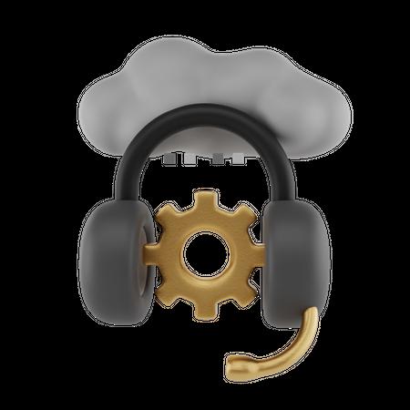 Technical Service 3D Illustration