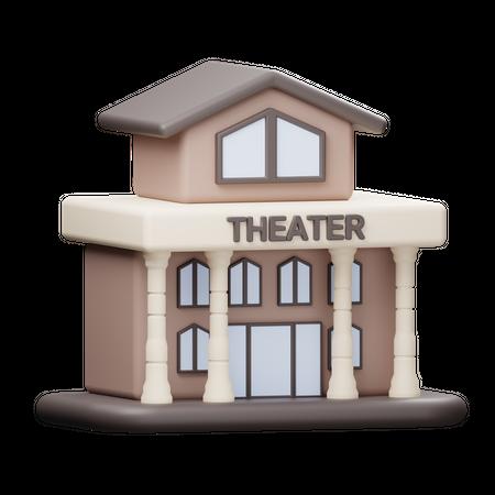Theater 3D Illustration