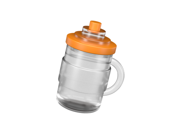 Thermos Flask 3D Illustration