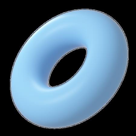Torus 3D Illustration