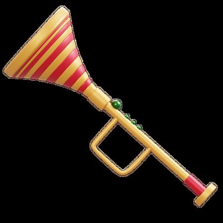 Trumpet 3D Illustration