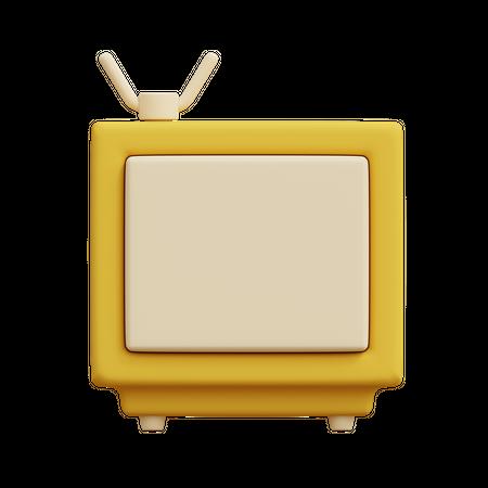 TV 3D Illustration