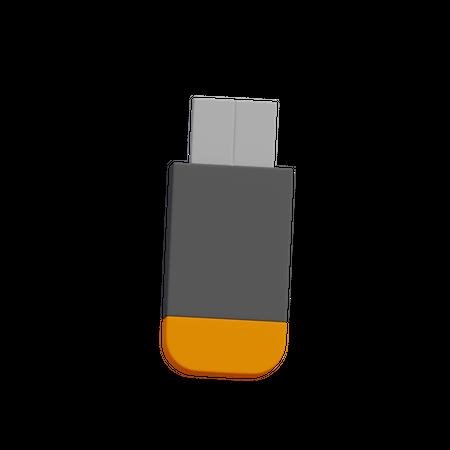 Usb Drive 3D Illustration