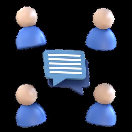 User Discussion 3D Illustration