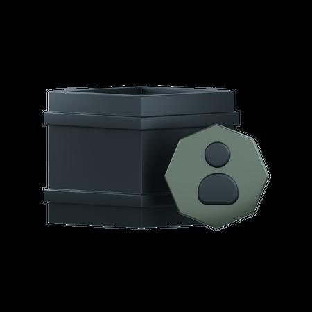 User Nft 3D Illustration