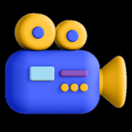 Video Camera 3D Illustration