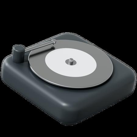 Vinyl 3D Illustration