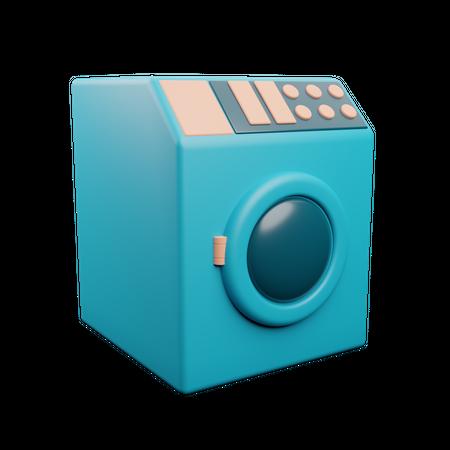 Washing Machine 3D Illustration