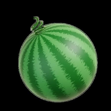 Watermelon 3D Illustration