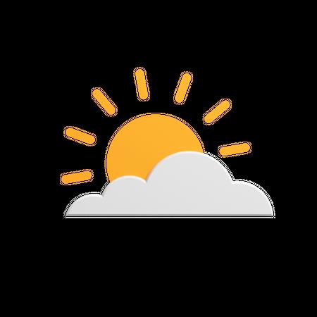 Weather 3D Illustration
