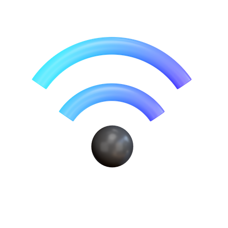Wifi 3D Illustration