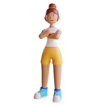 Woman 3D Illustration